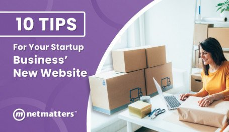 Start up business website tips
