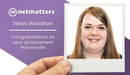 Tessa Woodrow named notable employee at Netmatters for August 2020