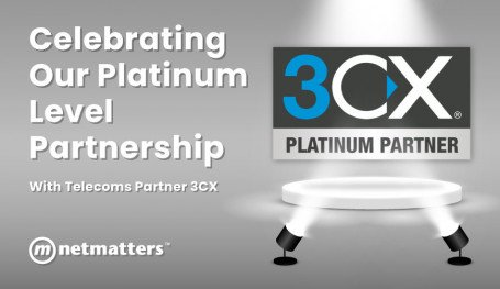 Celebrating our platinum level partnership with telecoms provider 3cx