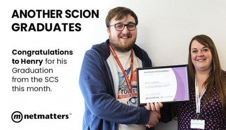 Henry Graduates the SCS