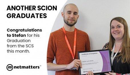 Stefan Graduates the SCS