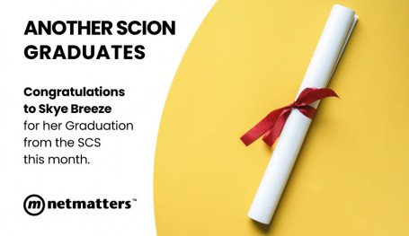 Skye Breeze Graduates the Netmatters Scion Schem