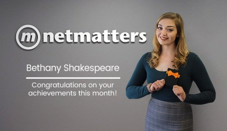 Bethany Shakespeare Notable Employee February 2019