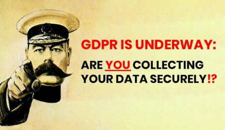 Are you collecting your data securely under GDPR