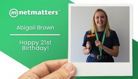 Happy 21st Birthday Abigail!