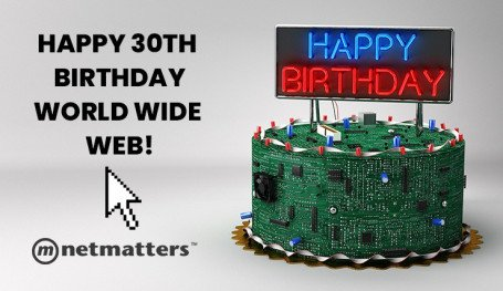 Happy 30th Birthday World Wide Web!