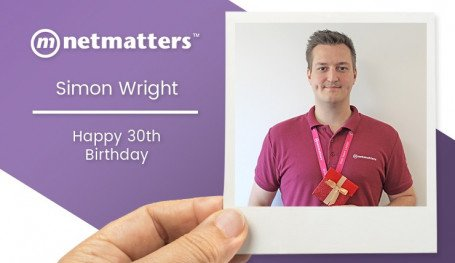 Simon Wright Turns 30
