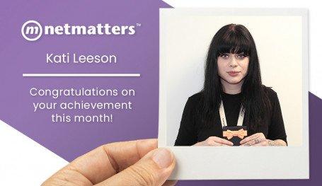 Kati Leeson January 2020 Notable Employee