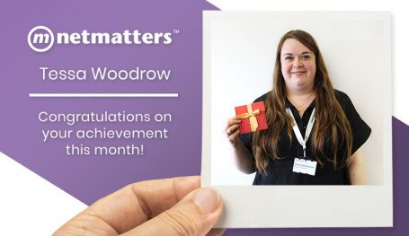 Tessa Woodrow July Notable Employee