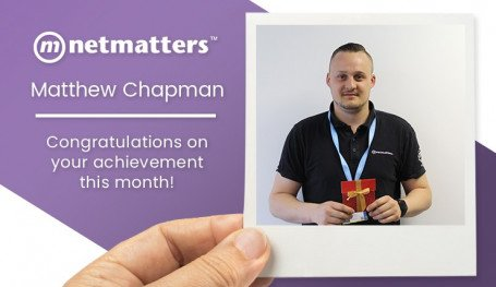 May 2019 Notable Employee Matt Chapman