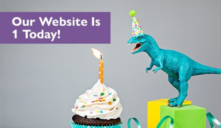 Our Website is One Today