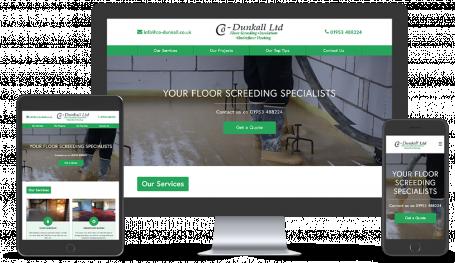 CoDunkall website portfolio