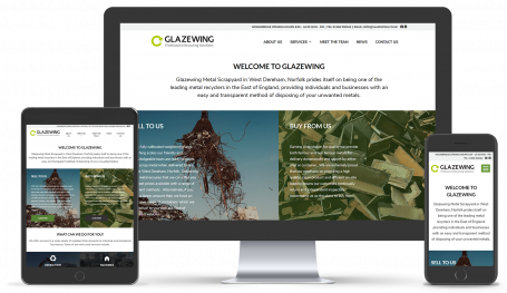 Glazewing Wbesite Design By Netmatters