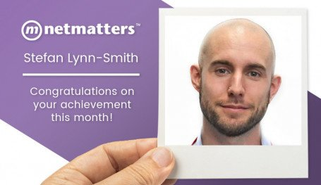 Stef Lynn-Smith is named as the Notable of Notable Employees by Netmatters in September