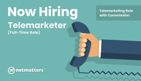 Telemarketer Role at Netmatters