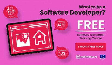 Time to kick-start a new career in Development with free training from Netmatters