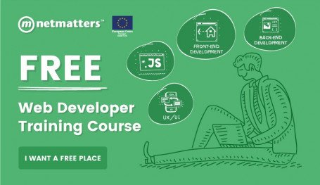 Train to become a web developer with free training from Netmatters