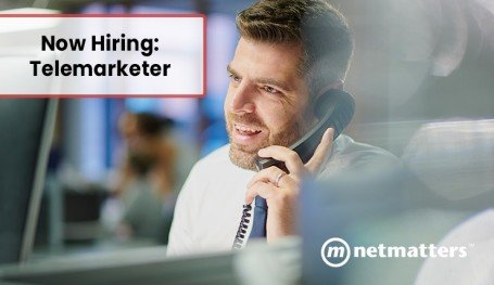 We are hiring a telemarketer
