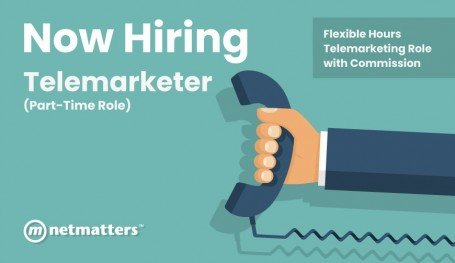 We Are Looking For A Telemarketer