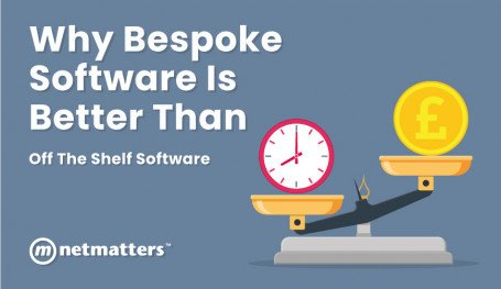 Weighing up bespoke software and off the shelf software