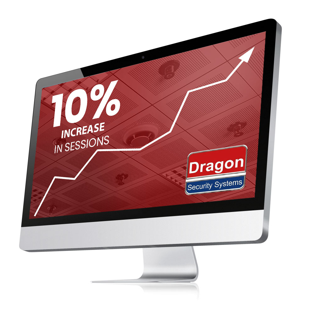 Dragon Security 10% increase in conversions