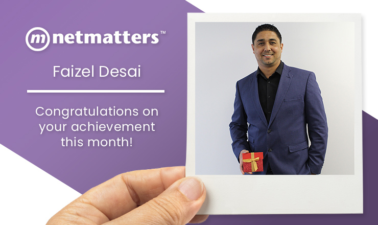 Faizel Desai April 2019 Notable Employee