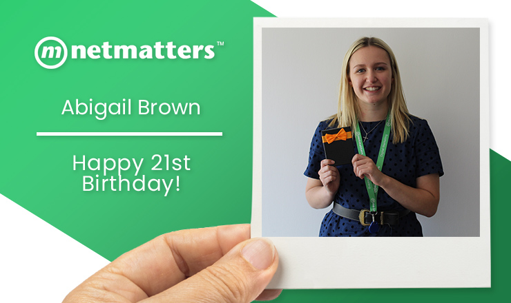Happy 21st Birthday Abigail!