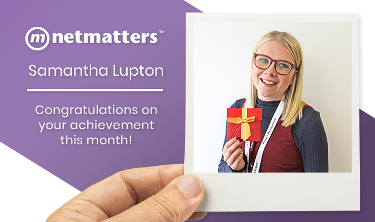 Samantha Lupton Notable Employee August 2019