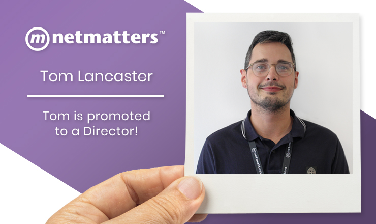 Tom becomes a Netmatters director