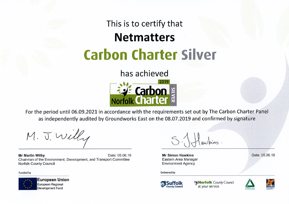 Carbon charter silver certificate