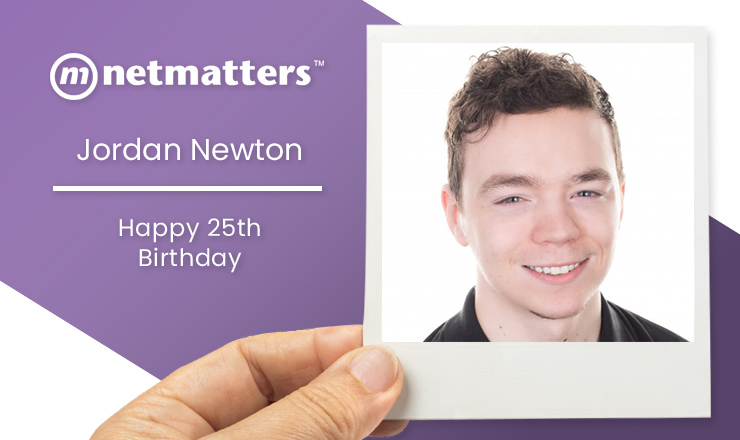 Happy 25th Birthday to Jordan Newton in the IT support team