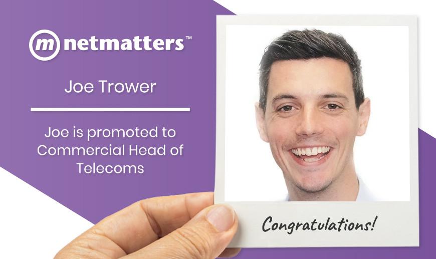 Joe Trower Commercial Head of Telecoms