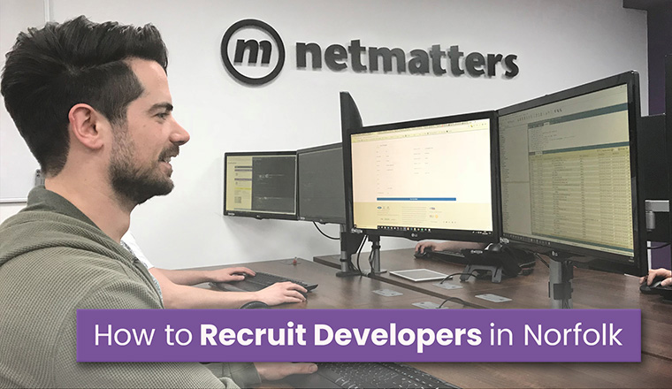 A developer recruited from Norfolk