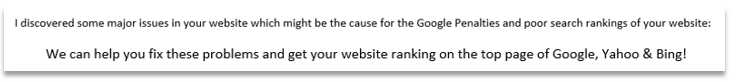 Showing inconsistencies in the email from the scammer