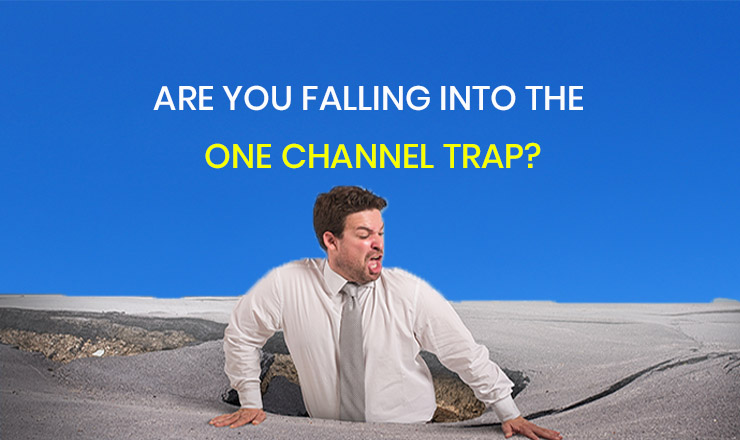 Someone who has fallen into the one channel trap