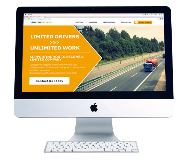 pay monthly website design Limited Drivers